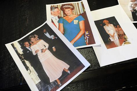 Kleider von Lady Diana