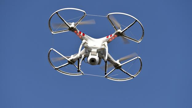 Quadrocopter im Flug