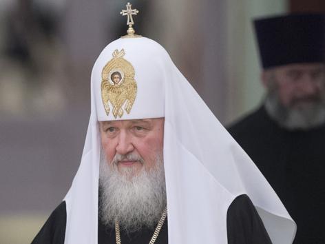 Der russisch-orthodoxe Patriarch Kyrill I.