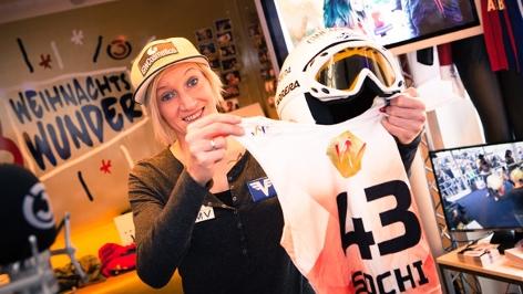 Skispringerin Daniela Iraschko-Stolz