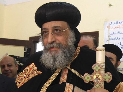 Das Oberhaupt der koptisch-orthodoxen Kirche, Papst Tawadros II., warnte unterdessen vor einem Nahen Osten ganz ohne Christen