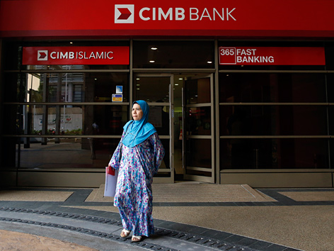 Islamische CIMB-Bank in Malaysia