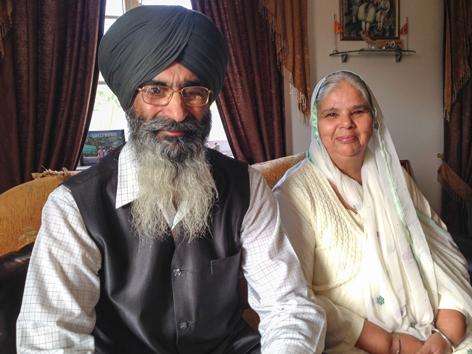 Großeltern der Familie Bajwa