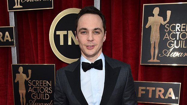 "Shelden Cooper aus ""The Big Bang Theory"": Jim Parsons"