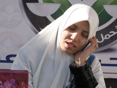 """Protagonistin aus """"Private Revolutions"""" Fatema Abouzeid"""
