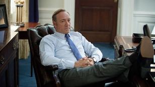 """Kevin Spacey in einem Szenenbild aus """"House Of Cards"""""""