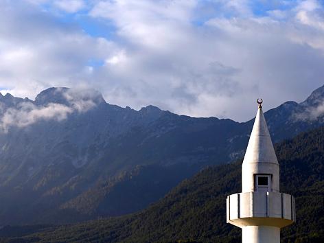 Die Moschee in Telfs, Tirol