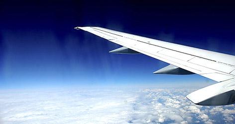 Tragfläche eines Flugzeugs