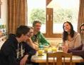 Familie von Hannah beim Essen