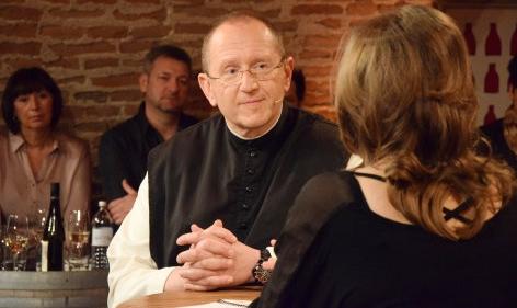 DENK mit KULTUR  Pater Karl und Irena Flury