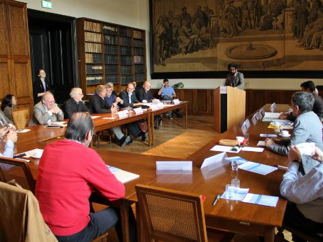Lessing Symposium an der Uni Wien. April 2015