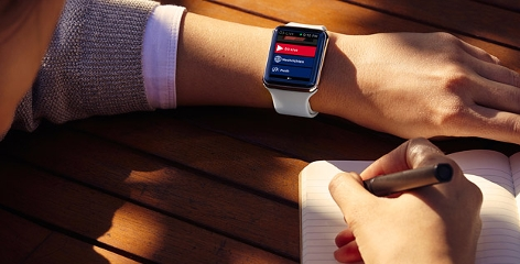 Die Ö3-App für die Apple Watch