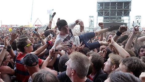 Nova Rock Crowd Surfer