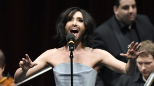 """Conchita Wurst während des """"Pop Meets Opera"""" im Rahmen des Eurovision Song Contest 2015"""