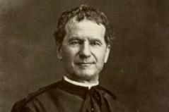 Porträt von Don Bosco