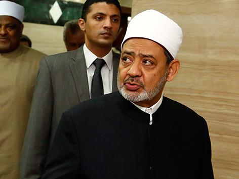 Großimam Ahmed al-Taijib der Al-Azhar-Universität