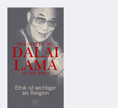 "Buchcover ""Der Appell des Dalai Lama an die Welt"""