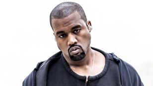 Kanye West spitzt die Lippen