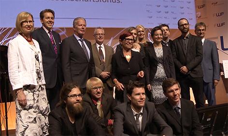 science.talk Spezial Wittgenstein-Preis 2015 Gala