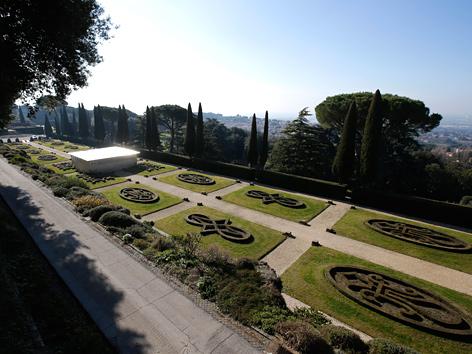 Gartenanlage in Castel Gandolfo