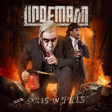 """CD-Cover von """"Skills in Pills"""" von Lindemann"""
