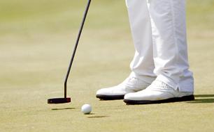 Bernd Wiesberger (AUT) im Rahmen der Lyoness Golf Open