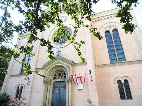 Die evangelische Gustav-Adolf-Kirche in Wien-Gumpendorf