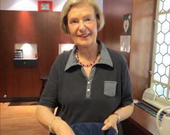 Die Gemeindevertreterin der Lutherischen Stadtkirche, Hannelore Köhler