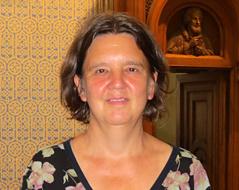 Die Pfarrerin der evangelischen Gustav-Adolf-Kirche in Wien-Gumpendorf, Edith Schiemel