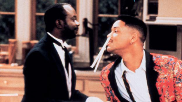 """Butler Geoffrey und Will Smith in """"Der Prinz von Bel-Air"""""""