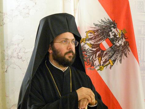 Der griechisch-orthodoxe Metropolit Arsenios