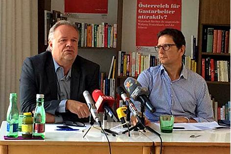 Caritas-PK mit Christoph Schweifer und Kilian Kleinschmidt
