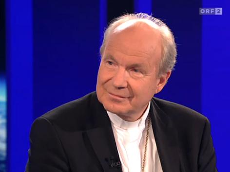 Kardinal Schönborn in der ZIB2