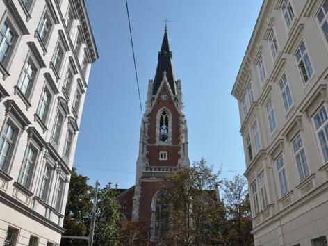 Die Katholische Pfarrkirche Sankt Elisabeth auf der Wieden in Wien