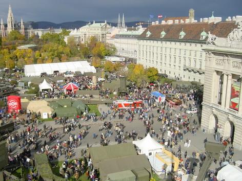 Bundesheer Leistungsschau am Heldenplatz