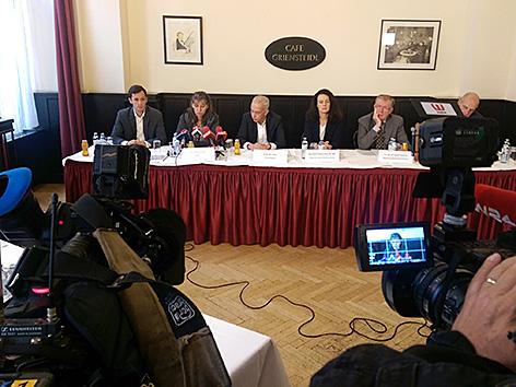 Pressekonferenz der Caritas zu Missbrauch in Kinder- und Jugendheimen