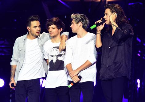 One Direction auf der Bühne