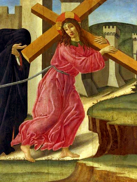 Sandro Botticelli (1445-1510): Kreuztragung