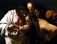 Caravaggios: Der ungläubige Thomas