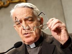 Vatikan-Sprecher Federico Lombardi