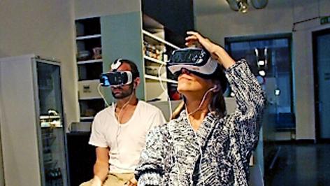 Virtuelles Cafe in Wien