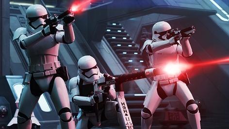"""Szenenbild aus """"Star Wars - Erwachen der Macht"""""""