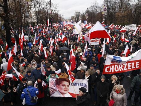 Demo Warschau