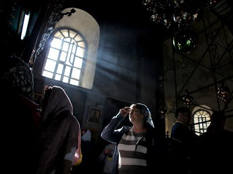 Geburtskirche in Bethlehem, West Bank