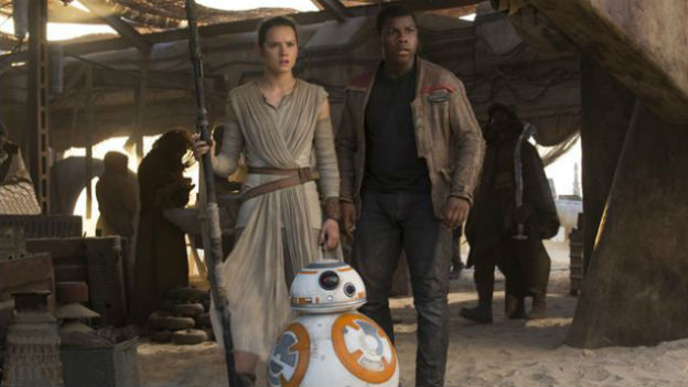 Daisy Ridley und John Boyega aus Star Wars