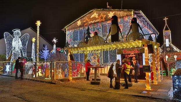 Das Weihnachts-Lichterhaus in Bad Hall