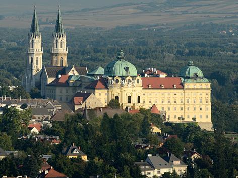Außenansicht des Stifts Klosterneuburg