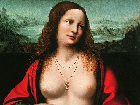 "Gemälde ""Maria Magdalena"", Giampetrino bzw. Leonardo da Vinci zugeschrieben (1515)"
