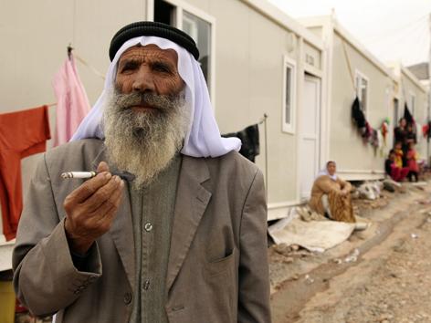 Ältere Menschen im Irak