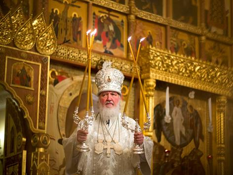 Der russisch-orthodoxe Patriarch Kyrill